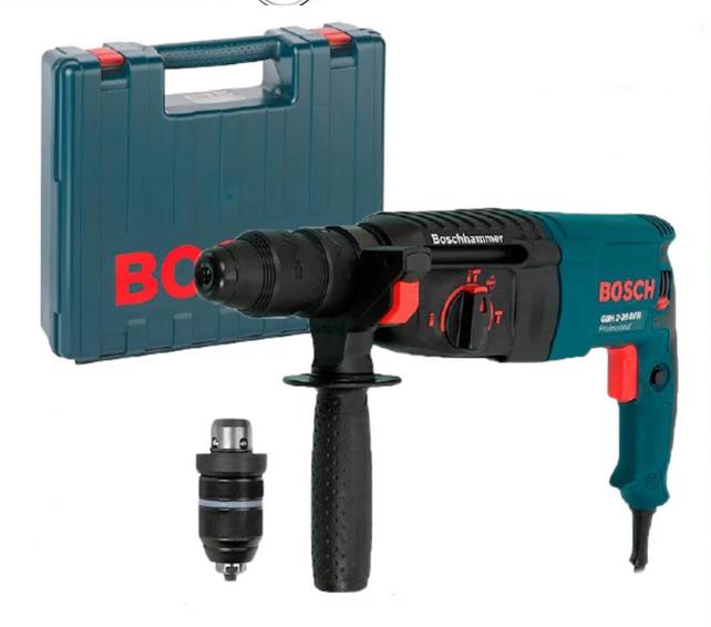 Перфоратор Bosch GBH 2-26 DFR 800 Вт 2.7 Дж в кейсе   Профессиональный перфоратор Бош