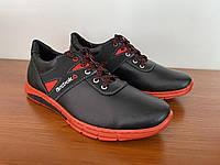 Туфлі чоловічі чорні спортивні (код 8143 )