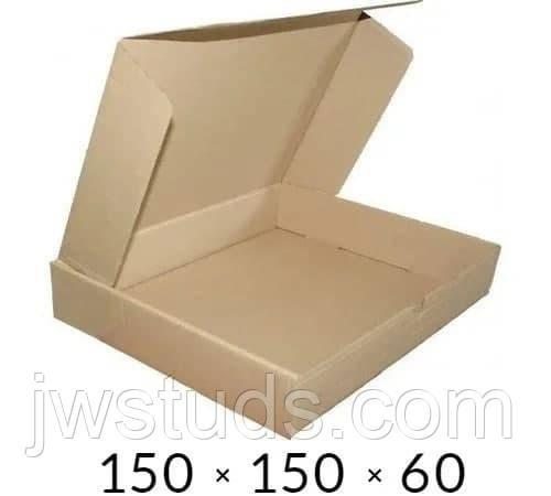 Самосборная картонная коробка - 150 × 150 × 60 на 0,4 кг