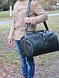 Дорожная кожаная сумка Vip Collection 36490.B.CROC 45 л, фото 4