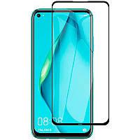 Защитное стекло Full screen PowerPlant для Huawei P40 Lite, Black