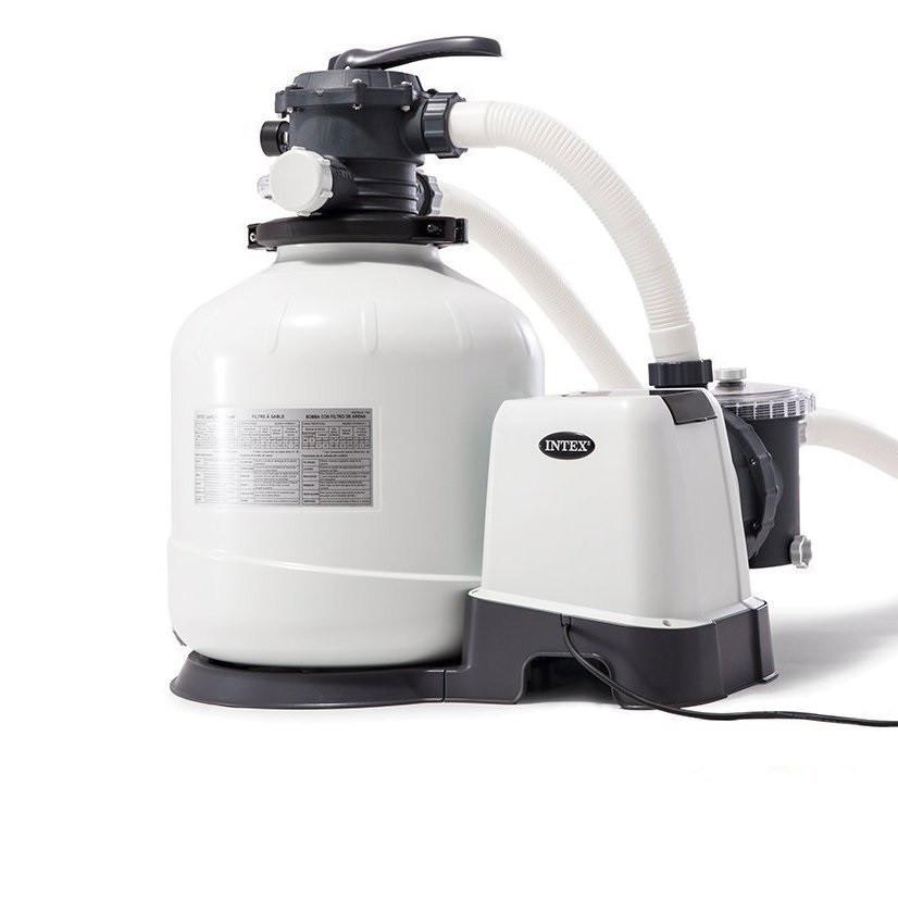 Пісочний фільтр насос Intex 26644, 4 500 л\год, 12 кг, New 2019