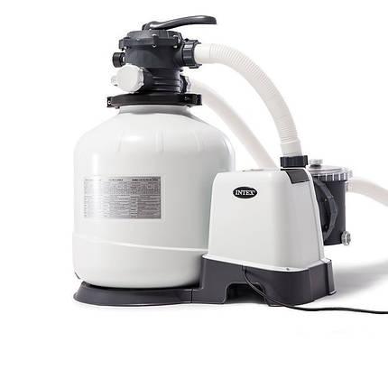 Пісочний фільтр насос Intex 26644, 4 500 л\год, 12 кг, New 2019, фото 2