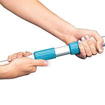 Набор 2в1 Intex 29050/54: Сачок с телескопической ручкой для очистки верхнего слоя воды (диаметр 26.2 мм), фото 2