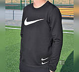 Футболка Чол. M(р) чорний 4016 Nike Туреччина Осінь-C, фото 2