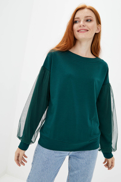 Свитшот Evdress XL зеленый