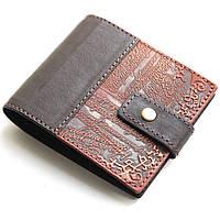 Мужской кошелек из натуральной кожи Guk