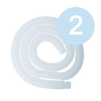 Гофрированный шланг для бассейна Intex 10399 (стандарт 32мм). Длина 3 м, диаметр 32 мм, количество 2 шт, фото 2