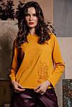 Світшот Evdress S жовтий, фото 2