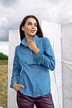 Рубашка Evdress M темно-голубой, фото 2