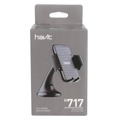 Автотримач для мобільного телефону HAVIT HV-H717 black, фото 2