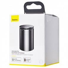 Автомобільний ароматизатор Baseus Minimalist Car CupHolder Air Freshener Ocean Black (SUXUN-CE01), фото 2