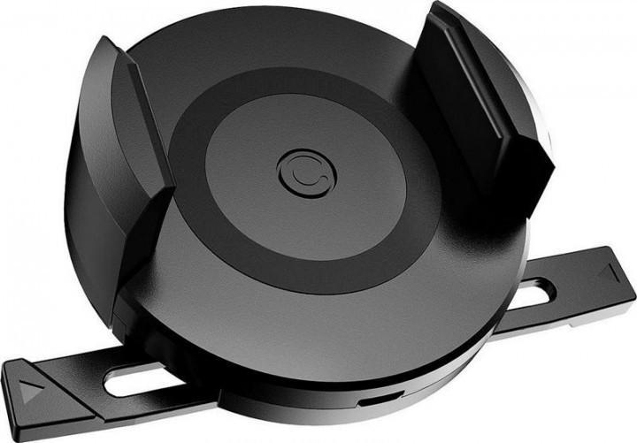 Автодержатель c беспроводным  зарядным устройством Canpow CP510 1A Black