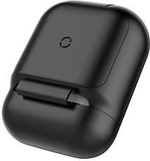 Бездротовий зарядний чохол Baseus Wireless Charger Case для AirPods Black (WIAPPOD-01), фото 2