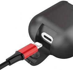 Беспроводной зарядный чехол Baseus Wireless Charger Case для AirPods Black  (WIAPPOD-01), фото 3