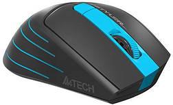 Мышь A4 Tech Fstyler FG30 Blue, фото 3