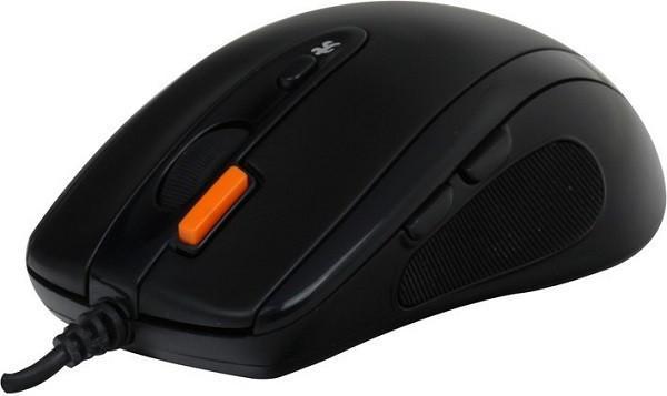 Мышь A4 Tech N-70FX Black