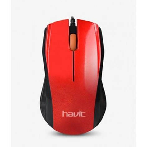 Мышь Havit HV-MS689 Red, фото 2