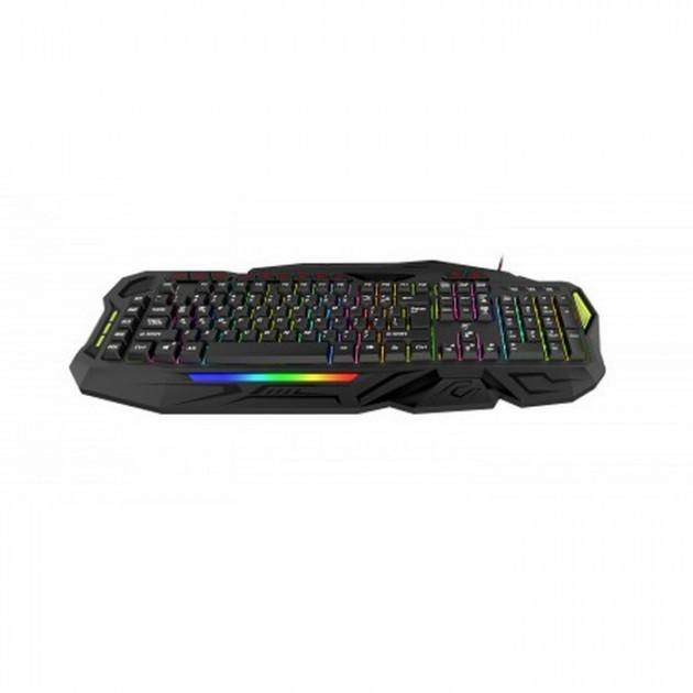 Клавіатура мультимедійна дротова HAVIT HV-KB417L USB black