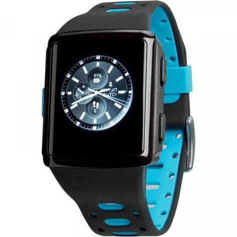 Смарт-часы Gelius Pro M3D (WEARFORCES GPS) Black/Blue, фото 2