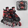 Детские роликовые коньки Best Roller  размер 34-37.