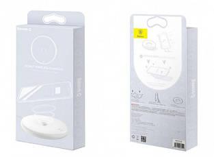Бездротове зарядний пристрій Baseus Donut Wireless Charger White (WXTTQ-02), фото 3