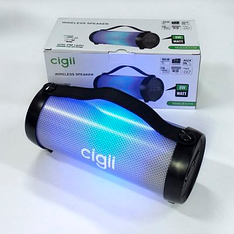 Портативна Bluetooth колонка Cigii RX33D Speaker Black