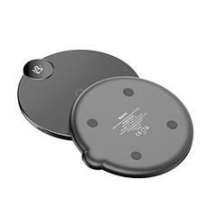 Беспроводное зарядное устройство Baseus Digital LED Display  Black (WXSX-01), фото 3