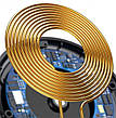 Беспроводное зарядное устройство Baseus Digital LED Display  Blue (WXSX-03), фото 3