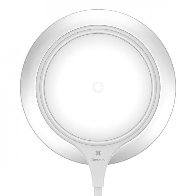 Бездротове зарядний пристрій Baseus Metal WXJS-S2 (WXSX-03) White