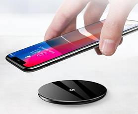 Бездротове зарядний пристрій Baseus Black Simple(CCALL-JK01), фото 2