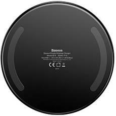 Беспроводное зарядное устройство Baseus Simple Black(CCALL-JK01), фото 3