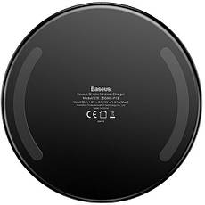Бездротове зарядний пристрій Baseus Black Simple(CCALL-JK01), фото 3