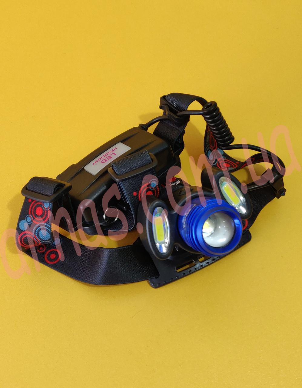 Налобний ліхтар акумуляторний Headlight Police BL-C862-T6