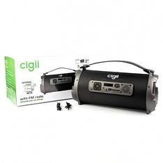 Портативна Bluetooth колонка Cigii K1202 Black