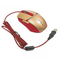 Игровая мышь Maxxter G1 IRON CLAW Gold/Red, фото 3
