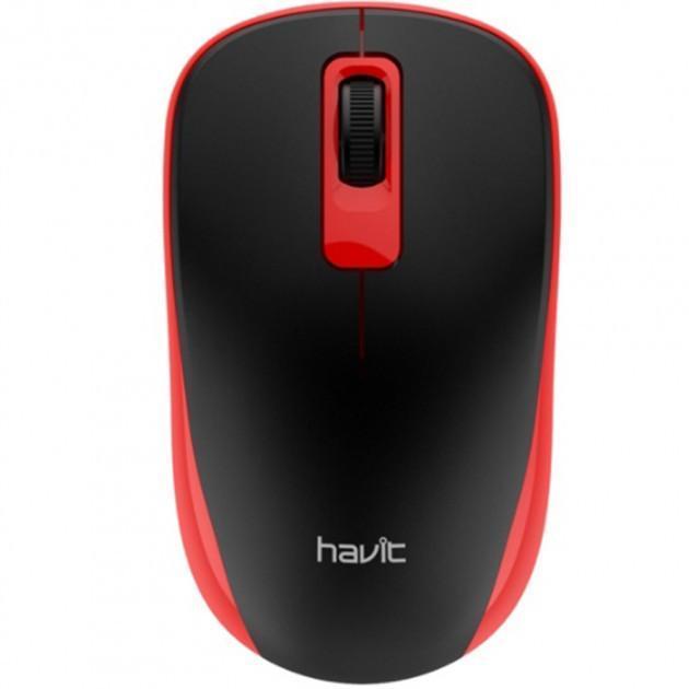 Миша бездротова Havit HV-MS626GT Red