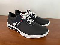 Туфлі чоловічі чорні спортивні (код 8144 )