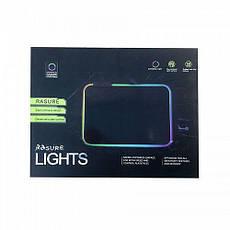 Игровая поверхность RGB-S с подсветкой (25x35x3mm) black, фото 3