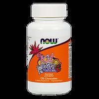 Витамины для детей NOW Kid Vits (120 таб)