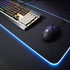 Ігрова поверхня RGB-L з підсвічуванням (30x78) black, фото 2