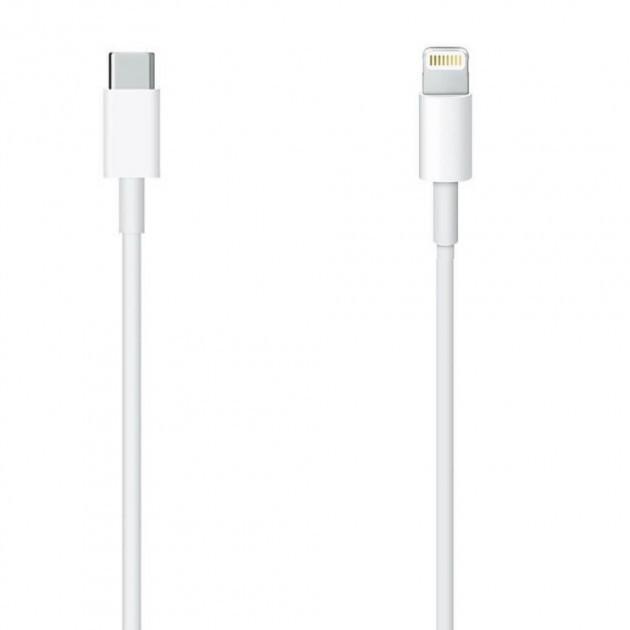 Кабель USB-C Apple Type-C to Lightning 1м (MK0X2AM/A) White