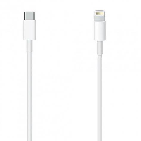 Кабель USB-C Apple Type-C to Lightning 1м (MK0X2AM/A) White, фото 2