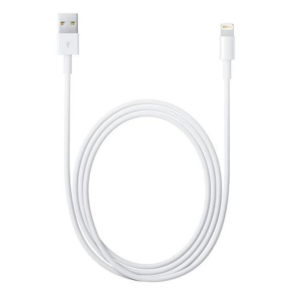 Кабель Apple Lightning to USB 1 м (MD818ZM/A) White