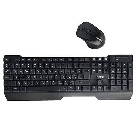 Клавіатура і миша HAVIT KB279GCM бездротові USB Black, фото 2