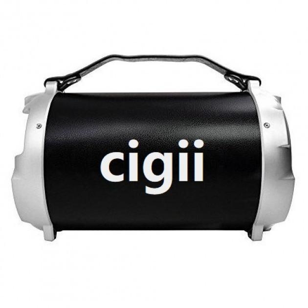Портативная стерео бумбокс колонка 2.1 Cigii S12B Black