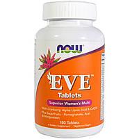 Вітаміни для жінок NOW Foods Eve (180 таб)