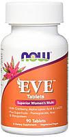 Вітаміни для жінок NOW Foods Eve (90 таб)