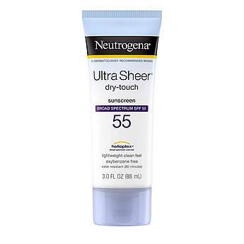 Ультралёгкий солнцезащитный крем Neutrogena Ultra Sheer Dry-Touch Sunscreen SPF 55 88 мл