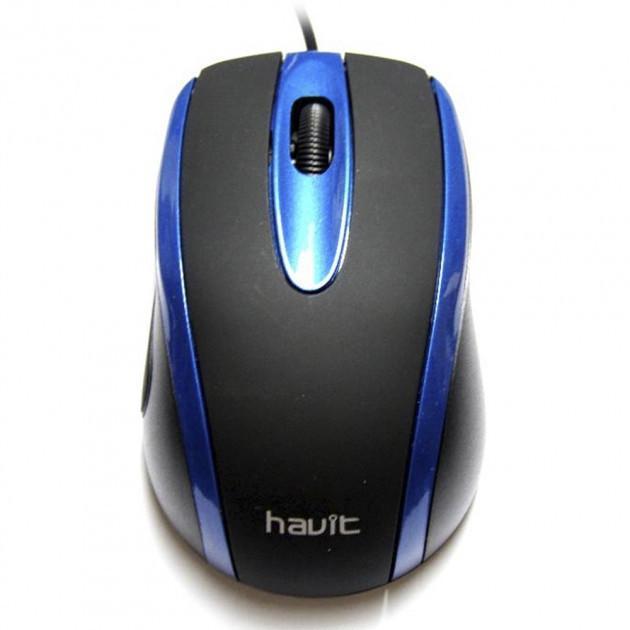 Мышь Havit HV-MS753 Black/Blue